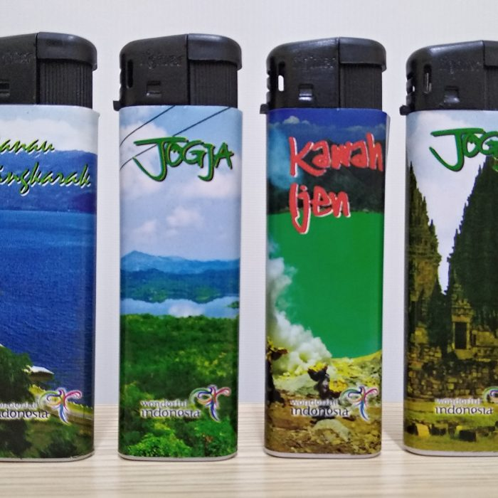 Fighter lighter Indonesian charm series